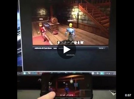 AQW3D on dfferent devices