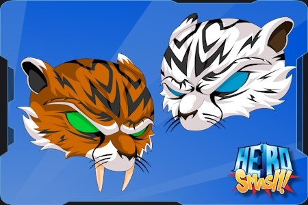 Tiger helms in pvp HeroSmash