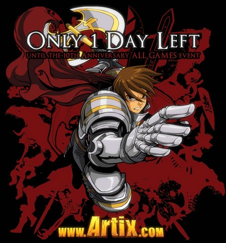 Artix Entertainment's 10th year anniversary special event!