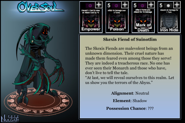 Oversoul - Skexis Fiend