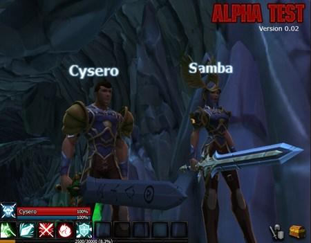 AdventureQuest 3D: Alpha Test
